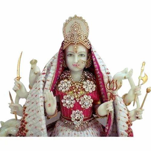 Marble Durga Mata Statue Marble Maa Durga Statue