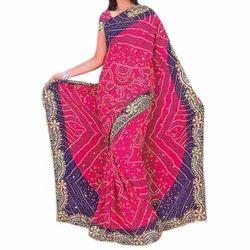 ea22b782a3 Bandhani Saree in Delhi, बंधनी साड़ी, दिल्ली, Delhi ...