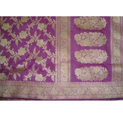Hand Embroidered Banarasi Silk Sarees