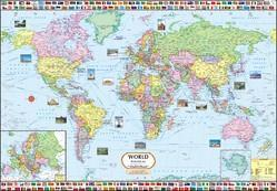 World map find wholesale price for duniya ka naksha in india world map political gumiabroncs Gallery
