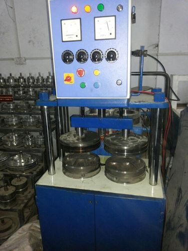 Hydraulic Double Die Paper Plate Machine & Hydraulic Double Die Paper Plate Machine at Rs 150000 /piece(s ...