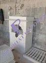 Marble Temple Pillar