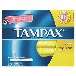 Cotton Tampax Tampons Regular 20 Each