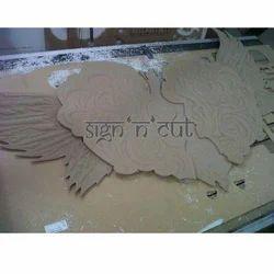 CNC 3D MDF Cutting