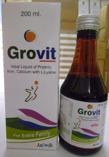 Syrup Protein with Multivitamins - Jaiwik Biotech, Jaipur ...
