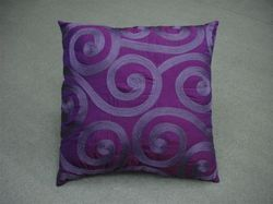 Purple Designer Cushion Cover