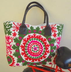 Ladies Suzani Hand Bag