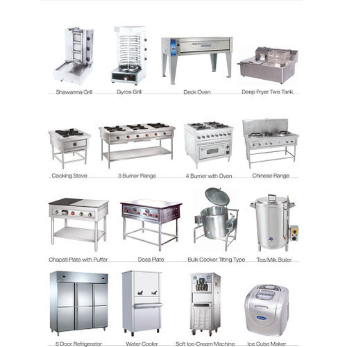 Restaurant Kitchen Equipments, Industrial Kitchen Equipment ...