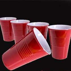 Beer Pong Red Plastic Cups 20ct
