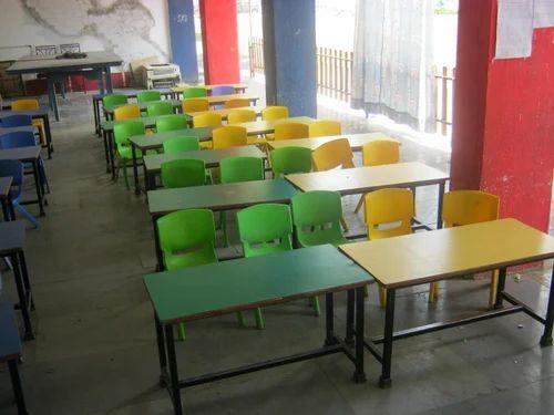 Nursery Single Desks And Chairs Pre School Chair Table