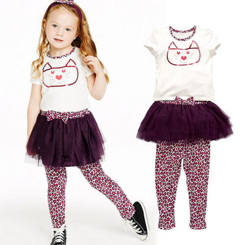 6557d650212f3 Fancy Kids Top and Legging Set at Rs 450  piece