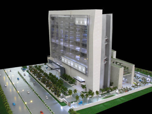 Modern Hotels Model, Architectural Models
