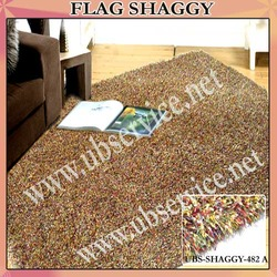 Flag Shaggy Carpets