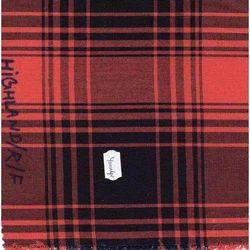 NGHIGHLANDRF Indigo Yarn Dyed Checks Fabric