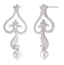 925 Sterling Silver Chandelier Earrings