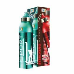 Steelking Deluxe 750 Plastic School Kids Water Bottle