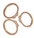 Copper External Circlip