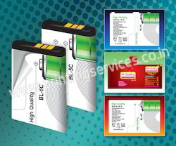 Mobile Battery Sticker Printing