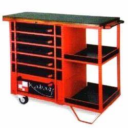 Kabage Red Drawer Workbench