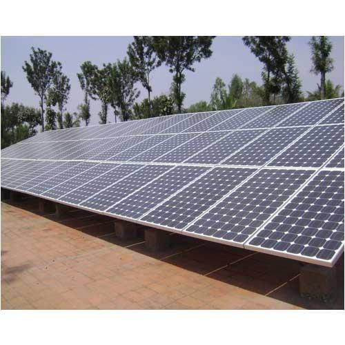 On Rooftop Solar PV Grid Power Plant