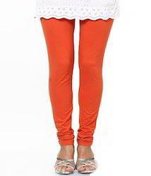 Ladies Orange Leggings