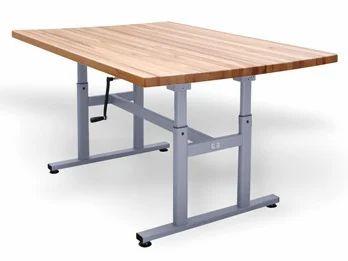 Wooden L Shape Work Tables, Rs 35600 /piece Drs Design Pvt ...