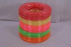 Hoses Zebra Color Transparent Pipe, Nominal Size: 1/2, Thickness: 2mm