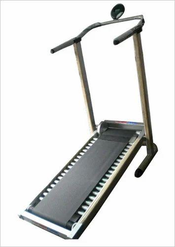manual exercise roller joggers treadmill folding at rs 14500 piece rh indiamart com Manual Treadmills for Seniors Portable Manual Treadmill
