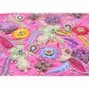 Saree Embroidery Jaal Work