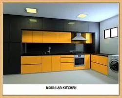 modular kitchen furniture - orange modular kitchen furniture