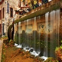Water Wall Curtain Fountain