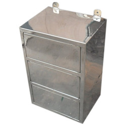 Stainless Steel Scoop Box