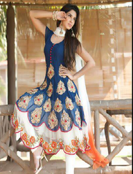 2efd040a46 Designer Anarkali Suit in Chandigarh, डिज़ाइनर ...