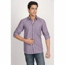 Ghpc Striped Purple And White Shirt