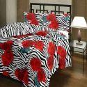 Floral Print Bed Comforter