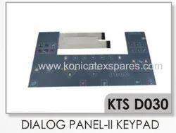 Dornier Dialog Panel 2 Membrane Keypad