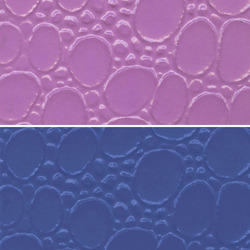 Violet PVC Leather Cloth