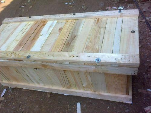 Rectangle Nut Bolt System Wooden Boxes