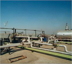 Steam Boiler Piping Project