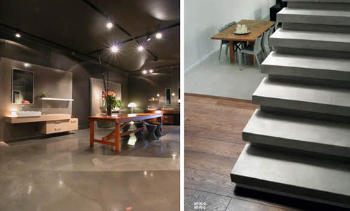 Micro topping concrete floorings concrete planners for Microtopping costi