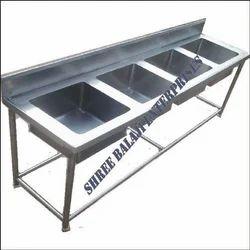 Four Bowl Sink Unit