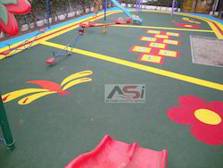 Rubber Play Area Flooring