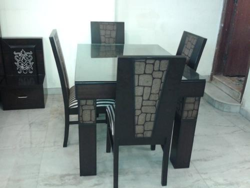 Wooden Tables - Wooden Dining Table Set Manufacturer from New Delhi