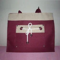 Designer Pink Jute Bags