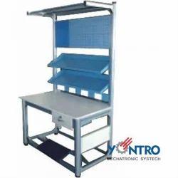 Aluminium Profile Workstation, For Office, Size: 4-6 Feet (h)