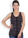 Y&I Casual Sleeveless Printed Women's Top
