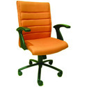 Executive Chair Synthetic Leather And Fabric Comfortable Office Chairs, Foldable: No