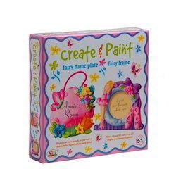 Create & Paint Fairy Frame & Name Plates