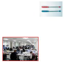 Yes Plastic Ball Pen Rubber Grip For Office Use