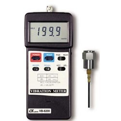 Lutron Instruments Velocity And Vibration Meter Vb 8200